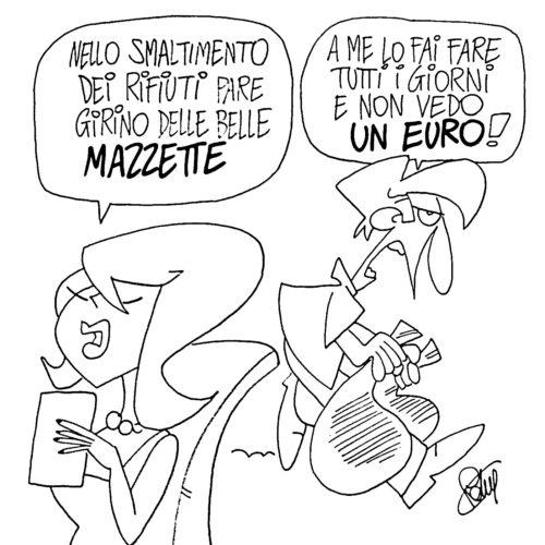 Rumente - Vignetta di Roberto Valente