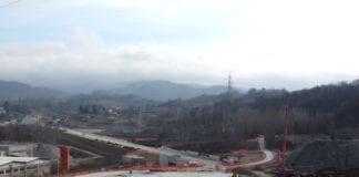 Il cantiere del Terzo valico a Serravalle Scrivia