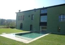 Locanda La Raia, a Gavi: la piscina