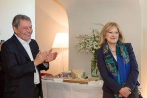 Giorgio Rossi Cairo e il Prefetto Romilda Tafuri