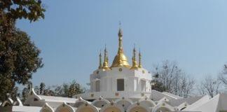 Pagoda del centro Vipassana