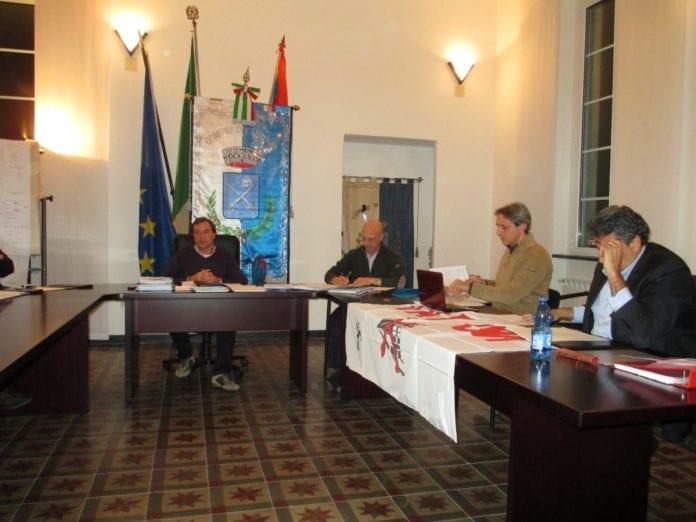 Una seduta del Consiglio comunale a Carrosio