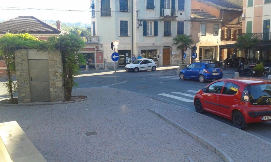 Piazza Roma a Gavi