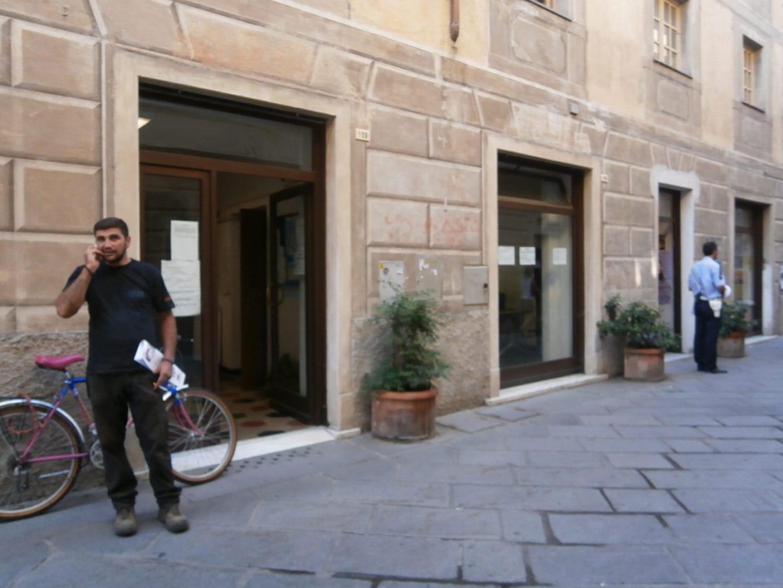 Ovada l ufficio Inps in via Cairoli