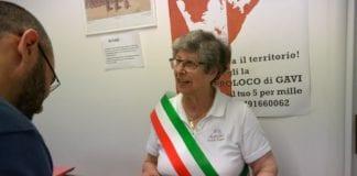 Il sindaco di Gavi, Rita Semino