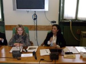 Il prefetto Romilda Tafuri e il commissario del Terzo valico Iolanda Romano