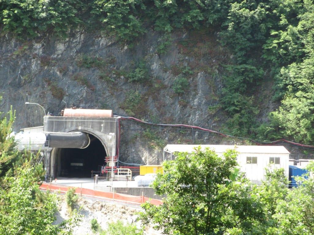 Terzo Valico: i lavori del tunnel di Castagnola