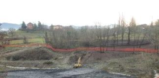 L'abbancamento dello smarino di Castagnola a Libarna, nel 2014