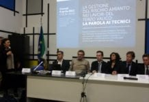 L'incontro sulla gestione dell'amianto del Terzo valico ad Alessandria