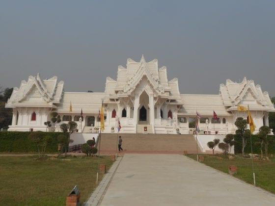Tempio tailandese a Lumbini
