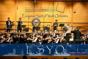 La European spirit of youth orchestra (Esyo)