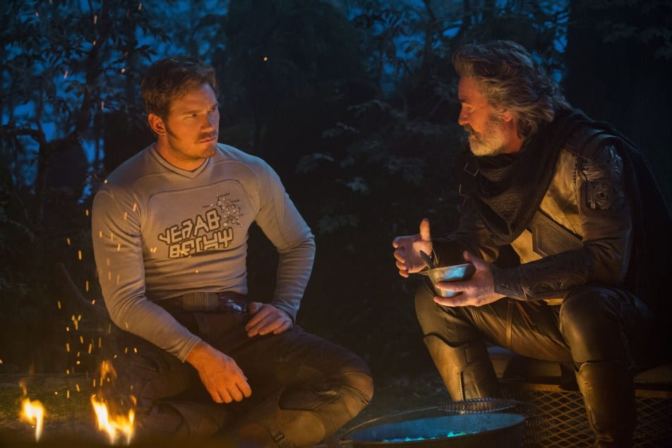 Kurt Russell e Chris Pratt