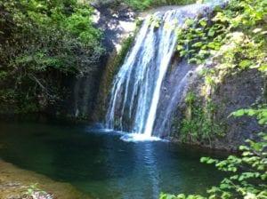 Le cascate di Rigoroso di Arquata
