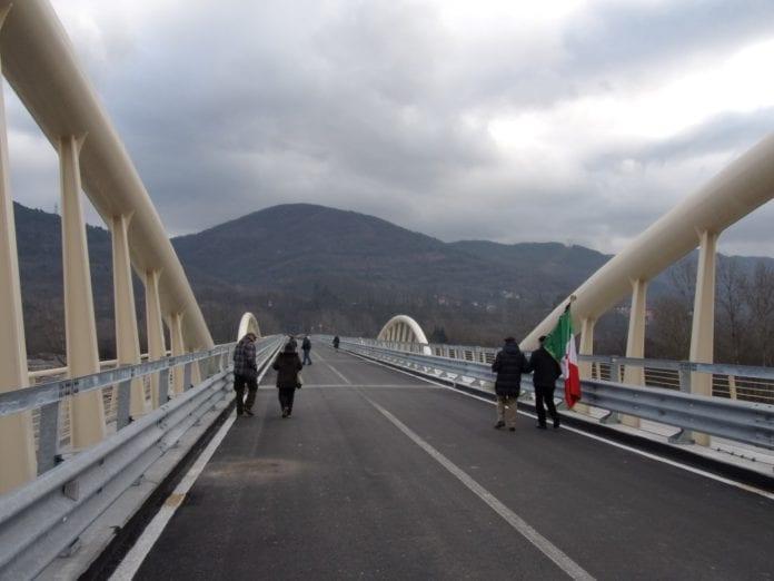 Il ponte di Vocemola ad Arquata Scrivia