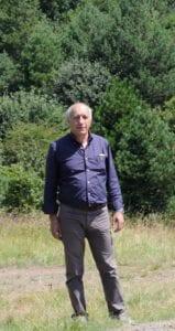 Dino Bianchi, presidente del Parco dell'Appennino Piemontese