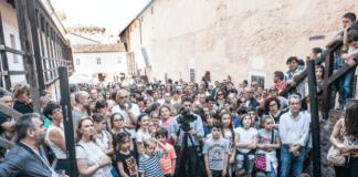 Il pubblico ieri al Forte di Gavi