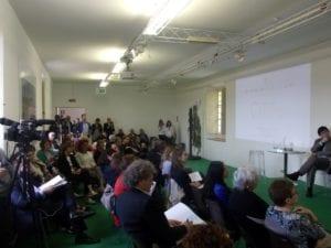 Il pubblico presente alla consegna del premio La Buona Italia