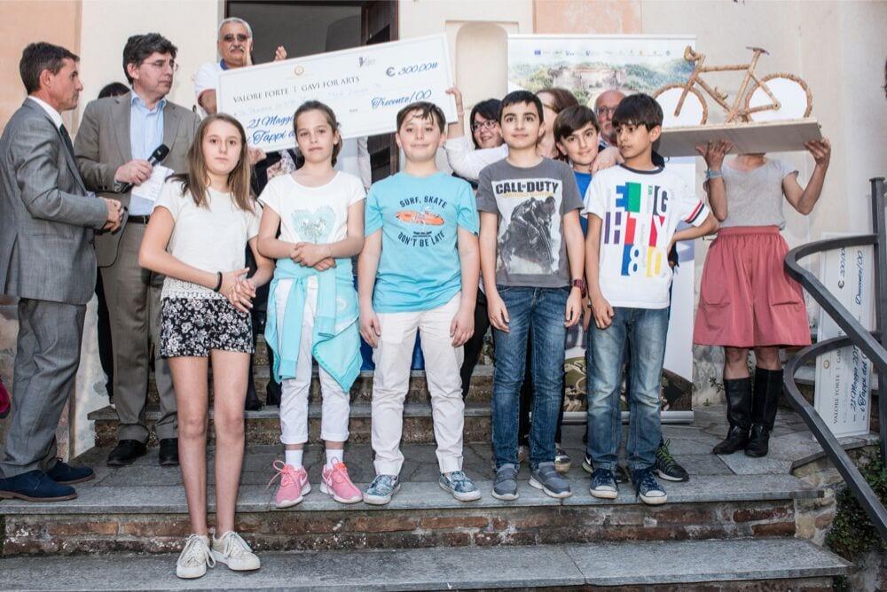 """La classe quinta della scuola """"Zucca"""" di Novi Ligure"""