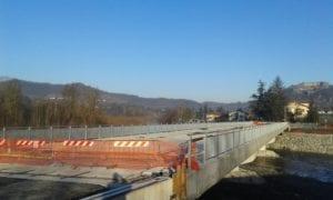 Il cantiere del ponte della Maddalena a Gavi