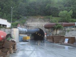 Il tunnel del Terzo valico a Voltaggio