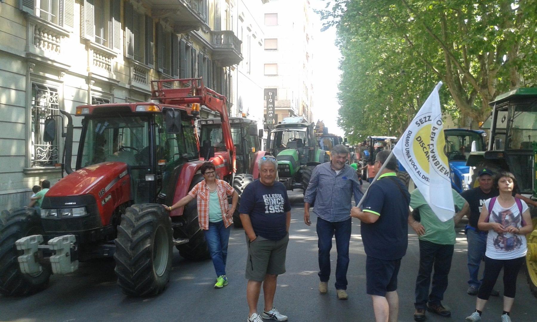 Tanti agricoltori oggi ad Alessandria