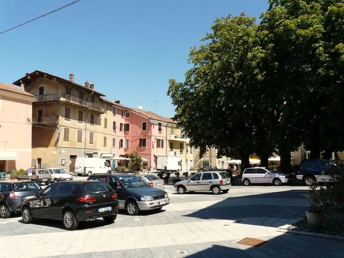 Garbagna piazza Principe Doria