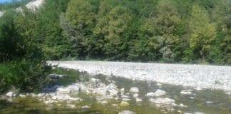 Il Lemme nei pressi del Lago Cortese