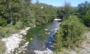 Il Lemme a Gavi presso il ponte della Maddalena