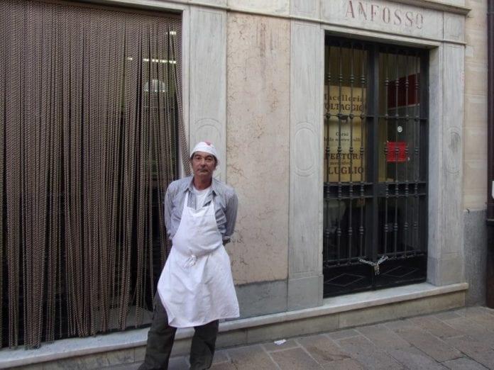 Giovanni D'Amore, macellaio a Voltaggio