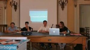 Garbagna conferenza stampa Borgo delle storie