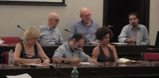 La seduta della commissione Ambiente a Novi Ligure