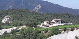 I lavori sul calanco a Sottovalle, nel territorio di Carrosio