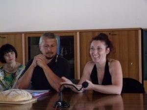 Luca Benicchi e Irene Calamante