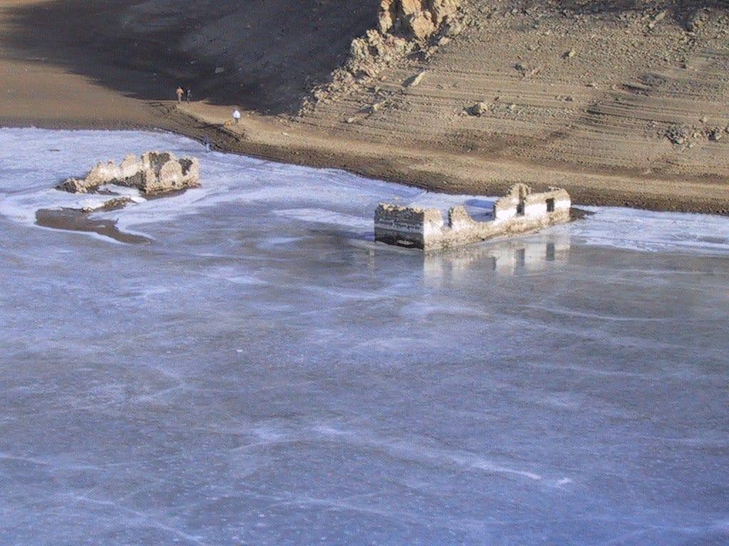 Laghi della Lavagnina, i ruderi degli impianti di lavorazione dell'oro