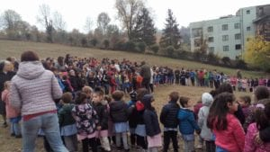 San Pastore la semina con i bambini