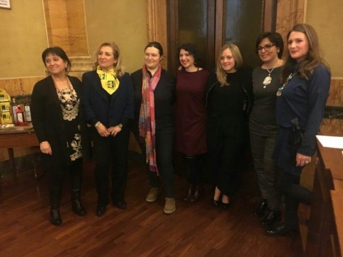 Elisa Gastaldi e il gruppo premiato