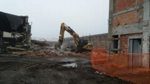 Carbonara demolizione ex Fimu