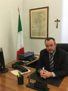 L'assessore Lorenzo Bianchi