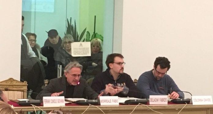 Fabio Morreale in Consiglio comunale