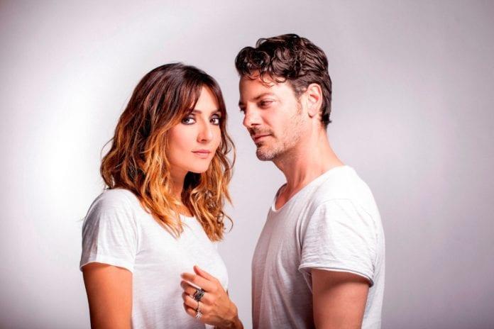 Ambra Angiolini e Matteo Cremon
