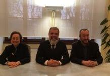 sindaco e assessori Pacquola e Bianchi