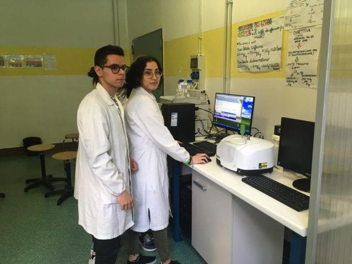 Marconi laboratorio di chimica