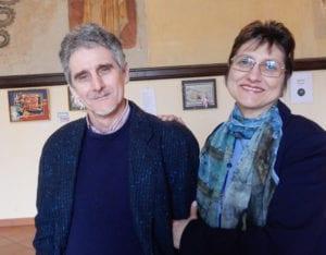 Fabrizio Falchetto e Giovanna Franzin