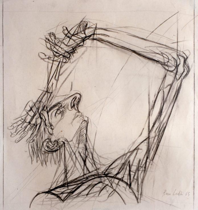 Caduta, Piero Leddi, 1965 (archivio Piero Leddi)