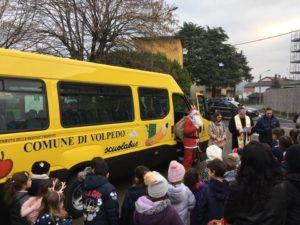 Inaugurazione scuolabus Volpedo