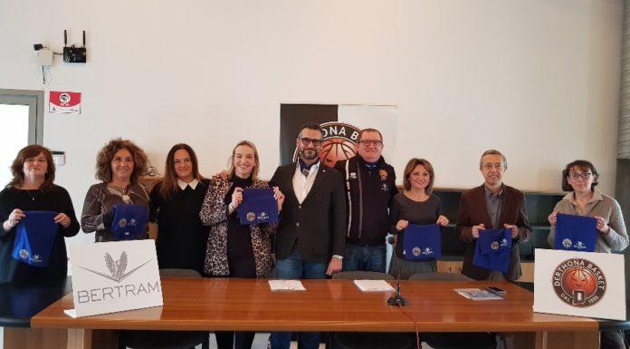 presentazione progetto Derthona Basket e scuole di Tortona