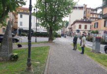 25 aprile 2020 Tortona corso Leoniero