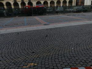 lavori in piazza Duomo