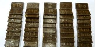 5 kg di hashish sequestrato