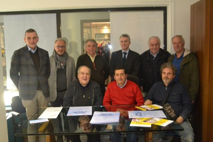 Don Sesto Falchetti e gli artigiani